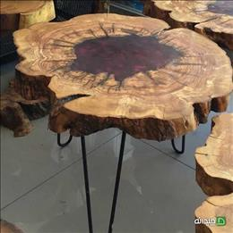 EPOXY TABLE چوب توسکا